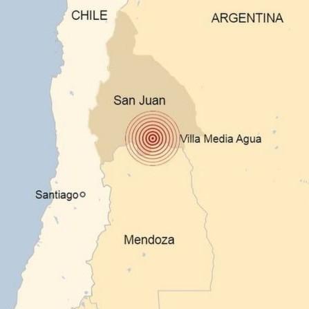 Diario Frontera, Frontera Digital,  TERREMOTO EN SAN JUAN, ARGENTINA, Internacionales, ,Terremoto en Argentina: un sismo de 6,4 se registra en San Juan  y se siente en varias provincias del país