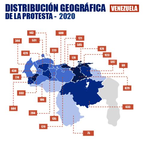 Diario Frontera, Frontera Digital,  9.633 protestas en 2020, Observatorio Venezolano de Conflictividad, Nacionales, ,Observatorio Venezolano de Conflictividad  registró 9.633 protestas en 2020