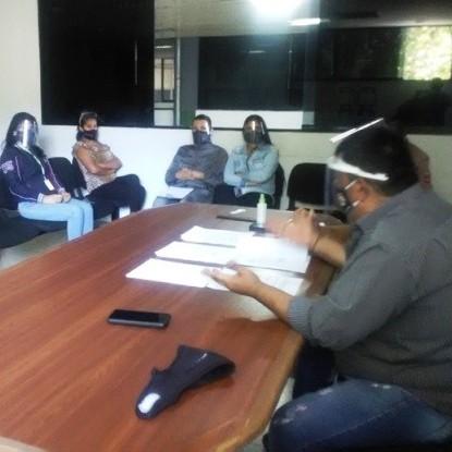 """Diario Frontera, Frontera Digital,  erminal de Pasajeros """"José Antonio Paredes"""", Regionales, ,Gerencia de La Terminal de Mérida se reunió con su equipo de jefaturas"""