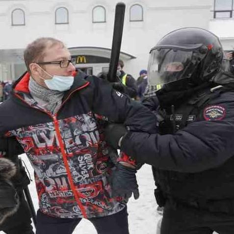 Diario Frontera, Frontera Digital,  RUSIA, DETENIDOS, Internacionales, ,Detienen a partidarios de Navalni en marchas en toda Rusia