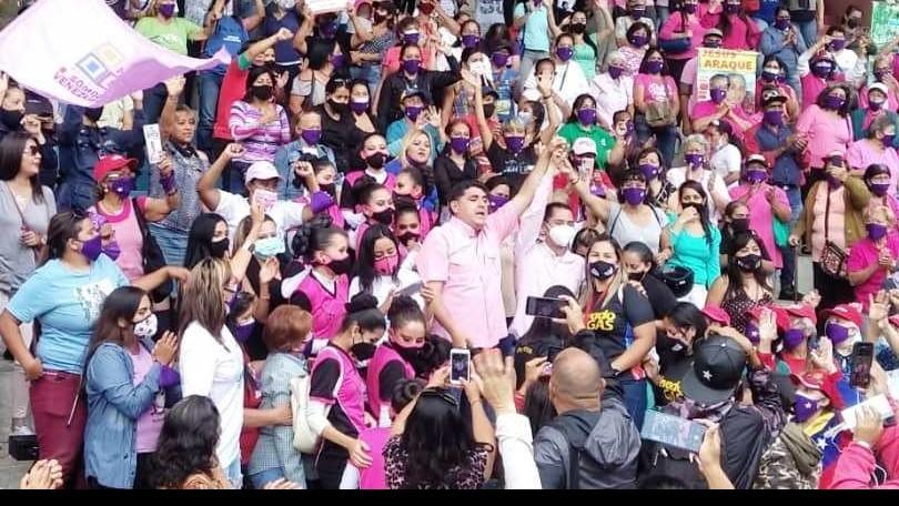 https://www.fronteradigital.com.ve/Realizado Encuentro Municipal de Mujeres con Jesús Araque