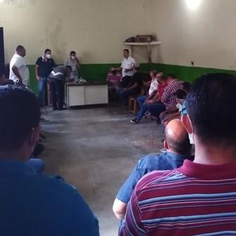 Diario Frontera, Frontera Digital,  VÍCTOR BUSTAMANTE, Mocoties, ,Candidato Víctor Bustamante sostuvo encuentro con el sector transporte en Zea