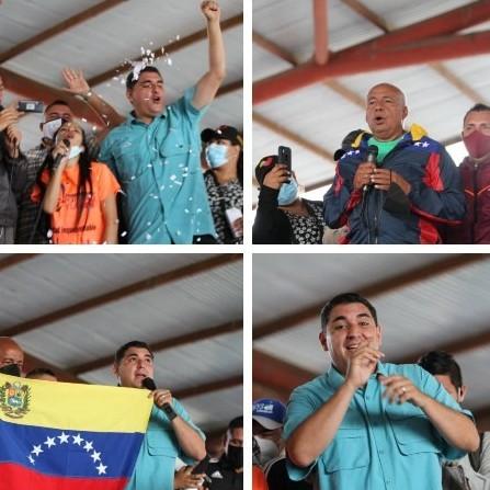 Diario Frontera, Frontera Digital,  COMANDO CAMPO ELÍAS, PSUV, Politica, ,Campo Elías juramentó su Comando de Campaña por una victoria contundente el 21N