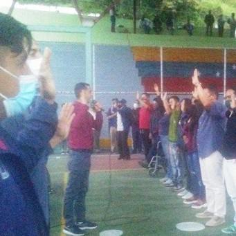 Diario Frontera, Frontera Digital,  JESÚS ARAQUE, Politica, ,Jesús Araque: Juramentamos  nuevos Comandos de Campaña Aristóbulo Istúriz  en el Municipio Libertador