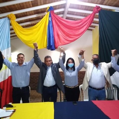 Diario Frontera, Frontera Digital,  COMANDO DE CAMPAÑA G4, ZEA, Mocoties, ,Ramón Guevara juramento y proclamó candidatos de la unidad en Zea