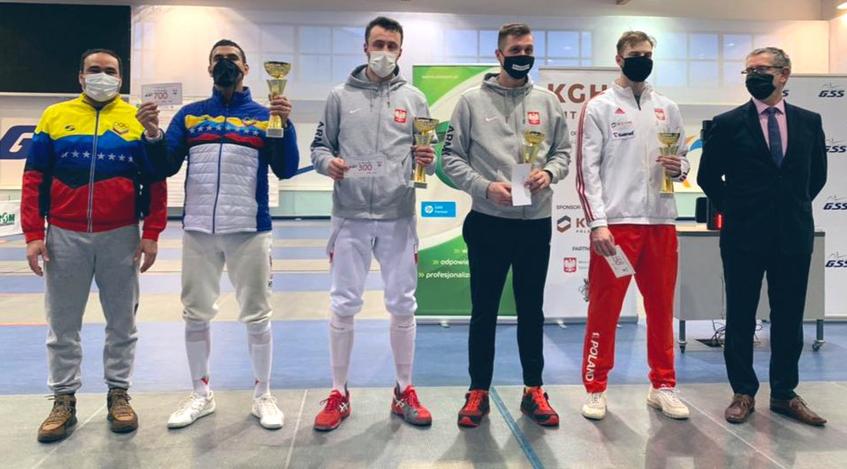 Diario Frontera, Frontera Digital,  ORO PARA LIMARDO, Deportes, ,Rubén Limardo consiguió medalla de oro  en la Copa Puchar Polski de Espada en Polonia
