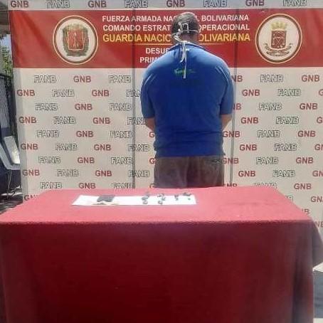 Diario Frontera, Frontera Digital,  GNB, Sucesos, ,GNB detuvo vendedor de marihuana en Ejido