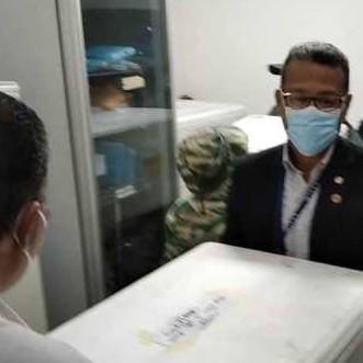 Diario Frontera, Frontera Digital,  SPUTNIK V en Mérida, Salud, ,Tres mil 560 vacunas Sputnik V llegaron a Mérida este miércoles