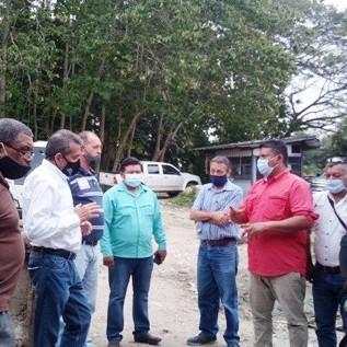 Diario Frontera, Frontera Digital,  REUNIÓN CON ALCALDES, Panamericana, ,Gobernador convocó a reunión  con alcaldes del valle del Mocotíes y de Alberto Adriani