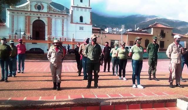 Diario Frontera, Frontera Digital,  ALCALDÍA DE RANGEL, Páramo, ,Con Parada Militar rinden tributo al Comandante Hugo Chávez en Mucuchíes
