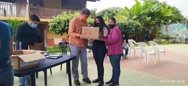 Diario Frontera, Frontera Digital,  ESTUDIANTES DE ZEA, ALCALDÍA DE ZEA, Mocoties, ,Estudiantes zedeños recibieron su Tablet de manos de su Alcalde