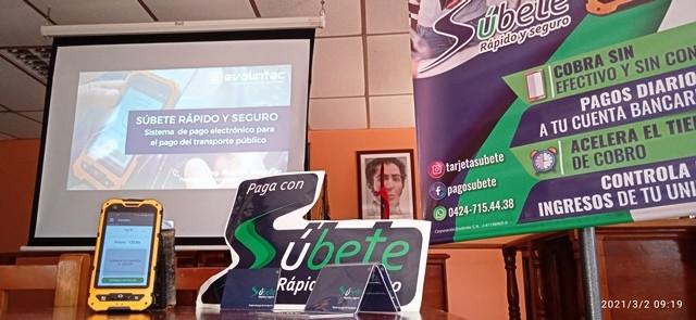 Diario Frontera, Frontera Digital,  SÚBETE, SANTOS MARQUINA, Páramo, ,Súbete, rápido y seguro presentó la tarjeta digital  de pago del transporte en el municipio Santos Marquina