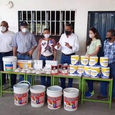 Diario Frontera, Frontera Digital,  23 de Enero del municipio Alberto Adriani, Panamericana, ,Ejecutivo regional inició programa de recuperación de escuelas