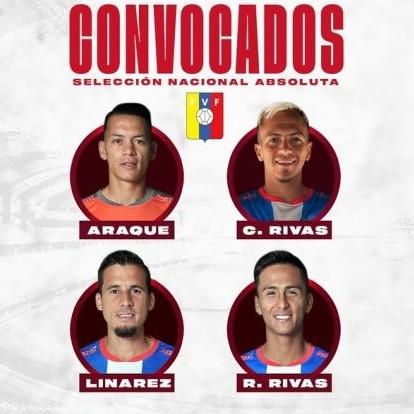 Diario Frontera, Frontera Digital,  ESTUDIANTES DE MÉRIDA F.C., Deportes, ,Cuatro rojiblancos se harán presente  en el próximo módulo de la selección nacional absoluta