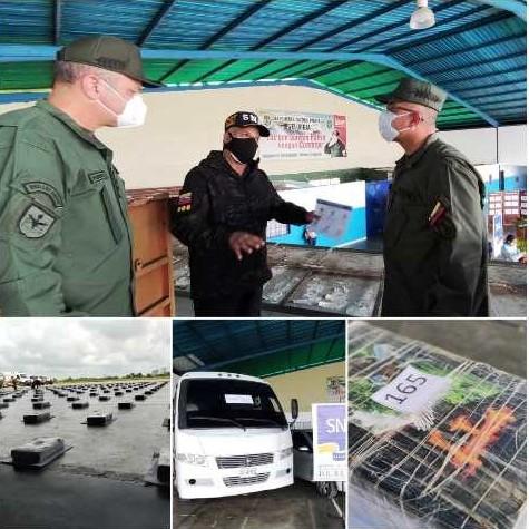 Diario Frontera, Frontera Digital,  GNB, Sucesos, ,M/G Richard López Vargas: el estado Mérida se ubica  en el 5to lugar a nivel nacional  con más de  333 kilos de diferentes drogas