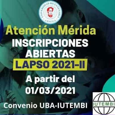 Diario Frontera, Frontera Digital,  Universidad Bicentenaria de Aragua, MÉRIDA, Regionales, ,La Universidad Bicentenaria de Aragua  marca pauta en la enseñanza virtual