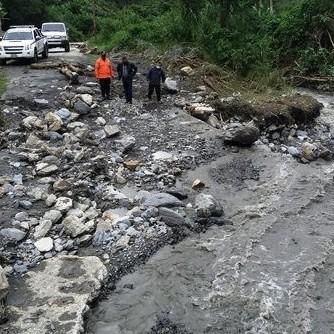 Diario Frontera, Frontera Digital,  EMERGENCIA EN EL GUAYABAL, Sucesos, ,Gobernador Ramón Guevara  inspeccionó emergencia en el sector El Guayabal