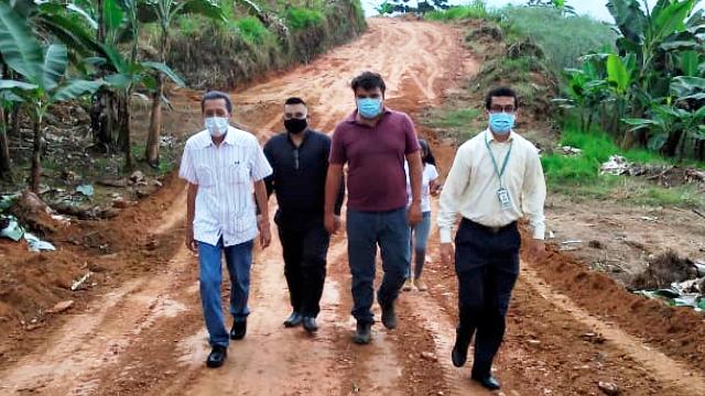 Diario Frontera, Frontera Digital,  ALCALDE EDGAR MÁRQUEZ, Mocoties, ,Edgar Márquez abre nueva vía de comunicación  en Pinto Salinas a pesar de la crisis