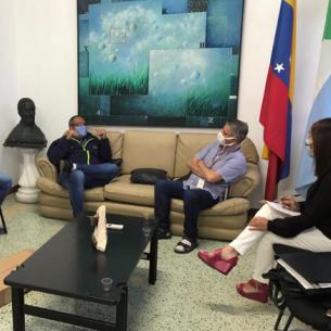 """Diario Frontera, Frontera Digital,  ALCALDÍA DE MÉRIDA, CORPOELEC, Regionales, ,Alcides Monsalve Cedillo: """"Alcaldía y Corpoelec en acción conjunta por la iluminación de Mérida"""""""