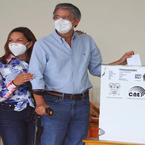 Diario Frontera, Frontera Digital,  ELECCIONES ECUADOR, Internacionales, ,Lasso espera la victoria para hacer de Ecuador un país «libre»