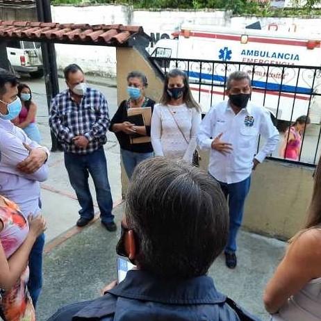 Diario Frontera, Frontera Digital,  CANBAGUÁ, MUNICIPIO ARZOBISPO CHACÓN, AMBLANCIA, GOBIERNO DE MÉRIDA, RAMÓN GUEVARA, Regionales, ,El hospital de Canaguá cuenta con ambulancia operativa
