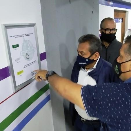 Diario Frontera, Frontera Digital,  PISO 3 DEL IAHULA, GOBERNADOR DE MÉRIDA, Salud, ,Gobernador Ramón Guevara inspeccionó trabajos en el Iahula
