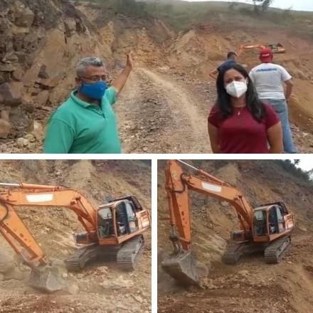Diario Frontera, Frontera Digital,  ARICAGUA, Regionales, ,Gobierno Bolivariano recuperó  tramo de vialidad agrícola en Aricagua