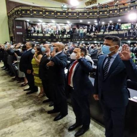 Frontera Digital, Diario Frontera, AN juramentó a nuevos rectores del CNE