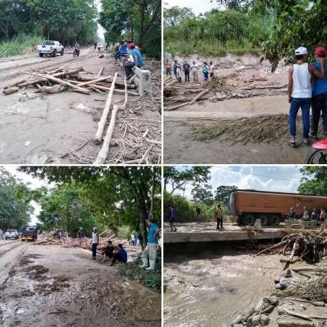 Diario Frontera, Frontera Digital,  LLUVIAS, Sucesos, ,LLUVIAS DESBORDARON QUEBRADA BLANCA  Y AFECTARON CARRETERA PANAMERICANA