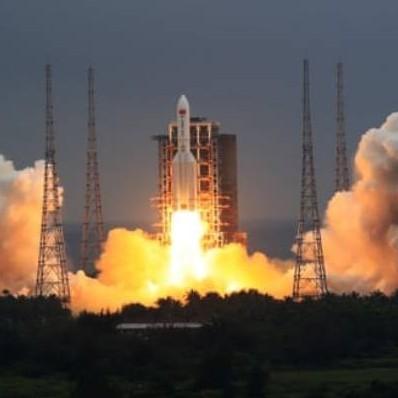 Diario Frontera, Frontera Digital,  COHETE CHINO, Internacionales, ,Restos del cohete chino caen en el Índico sin causar daños