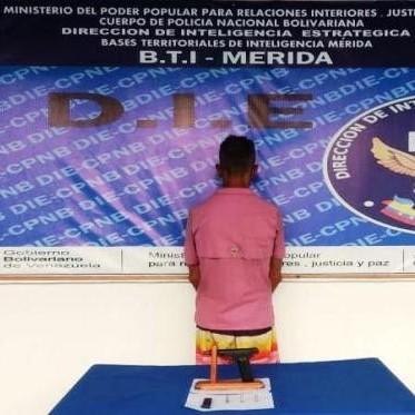 """Diario Frontera, Frontera Digital,  DIE, Sucesos, ,DIE APREHENDIÓ CIUDADANO APODADO """"EL TIGRE""""  TRAS INCAUTAR UN ARMA DE  FUEGO EN EL VIGÍA"""
