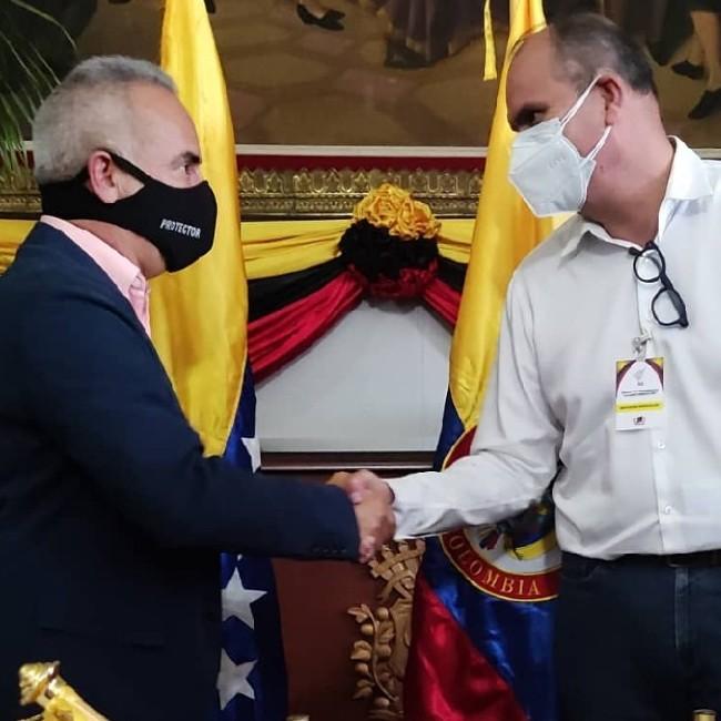 Diario Frontera, Frontera Digital,  FREDDY BERNAL, Nacionales, ,Establecen mesas de trabajo  para reabrir la frontera con Colombia