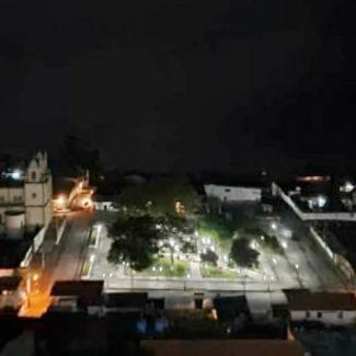 Diario Frontera, Frontera Digital,  edgar márquez, Politica, Mocoties, ,Edgar Márquez, comunidad e Iglesia,  reparan sistema eléctrico de la plaza de Mesa Bolívar