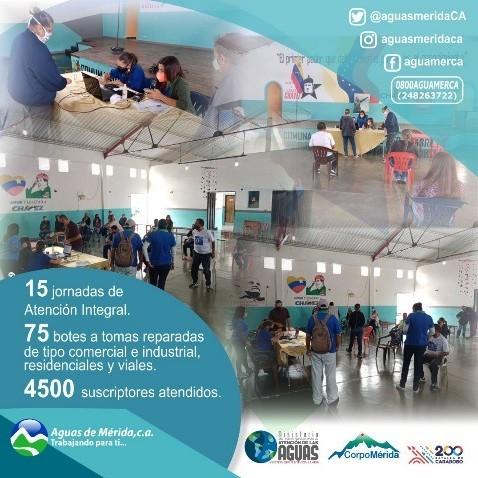 Diario Frontera, Frontera Digital,  AGUAS DE MÉRIDA, Regionales, ,Jornadas de Atención Integral, Aguas de Mérida C.A, en articulación con la organización popular
