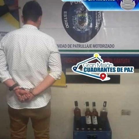 Diario Frontera, Frontera Digital,  DETENIDO POR DESACATO, Sucesos, ,POLICÍA DETUVO A CIUDADANO POR DESACATO AL DECRETO PRESIDENCIAL EN LIBERTADOR