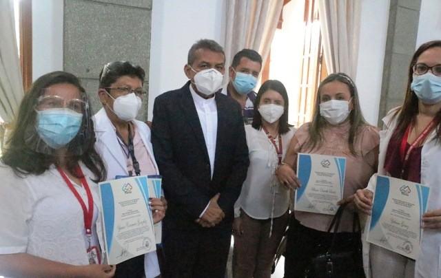 Diario Frontera, Frontera Digital,  PERSONAL DE CORPOSALUD, Salud, ,Personal de Corposalud recibió  reconocimiento por lucha contra la COVID-19