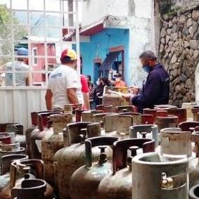 Diario Frontera, Frontera Digital,  NEVADO GAS, Regionales, ,Distribuidos 231 cilindros de gas doméstico en Vista Hermosa