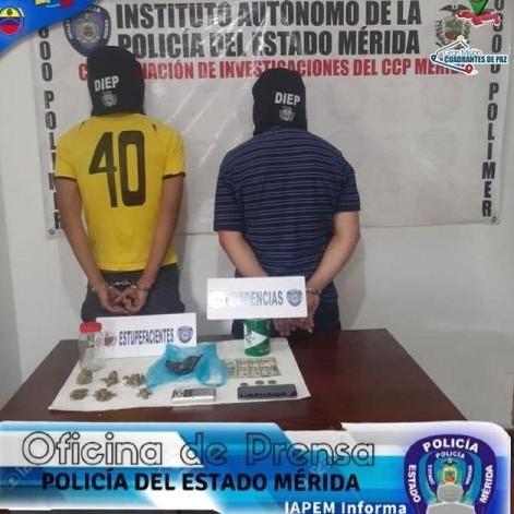 """Diario Frontera, Frontera Digital,  DETENIDOS POR DROGAS, Sucesos, ,CAPTURAN A DOS CIUDADANOS APODADOS  EL """"ZIUL"""" Y """"EL PROFE"""" TRAS INCAUTAR DROGA EN LIBERTADOR"""