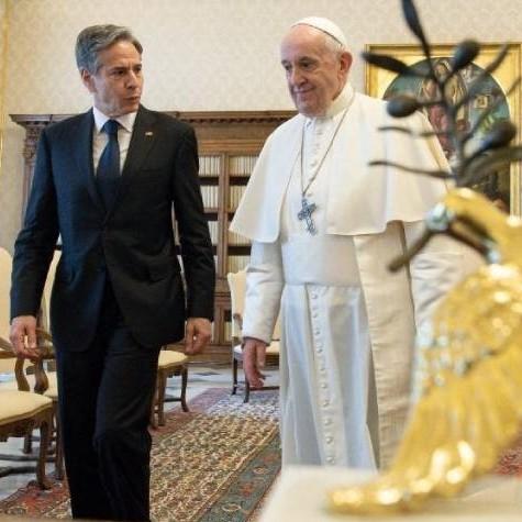 Diario Frontera, Frontera Digital,  Antony John Blinken, Internacionales, ,Venezuela figuró entre los temas abordados por Blinken en el Vaticano