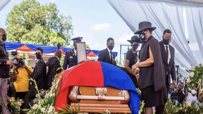 https://www.fronteradigital.com.ve/Exprimera dama de Haití acudió al funeral del presidente asesinado