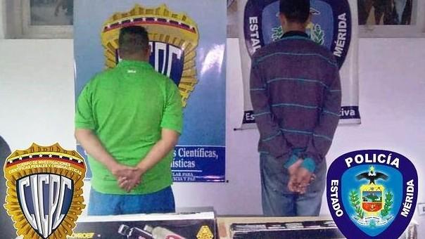 https://www.fronteradigital.com.ve/POLIMERIDA Y CICPC MÉRIDA CAPTURARON  A DOS CIUDADANOS POR HURTO EN LIBERTADOR
