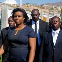 Diario Frontera, Frontera Digital,  PRIMERA DAMA DE HAITÍ, Internacionales, ,Primera dama de Haití llegó a Miami en un avión ambulancia