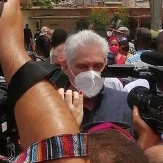 """Diario Frontera, Frontera Digital,  MIGUEL DÍAZ CANEL, Internacionales, ,""""La orden de combate está dada, a la calle los revolucionarios"""", amenaza Díaz-Canel"""