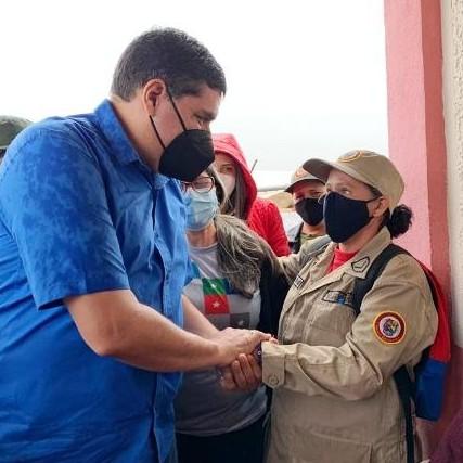 Diario Frontera, Frontera Digital,  JEHYSON GUZMÁÁN, RIVAS DÁVILA, Mocoties, ,Víctimas del bloqueo económico en Rivas Dávila  reciben todo el apoyo del Gobierno Bolivariano