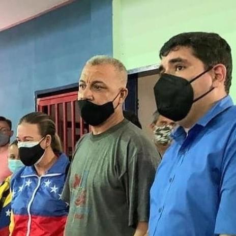 Diario Frontera, Frontera Digital,  JEHYSON GUZMÁN, Mocoties, ,Jehyson Guzmán inició entrega de material  para la rehabilitación del gimnasio Pulido Méndez