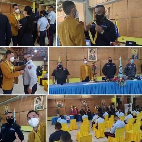 Diario Frontera, Frontera Digital,  Policía de Mérida, Orden Cruz de la Policía, Jesús Araque, Regionales, ,Policía de Mérida confirió la Orden Cruz de la Policía  en su Primera Clase a Jesús Araque