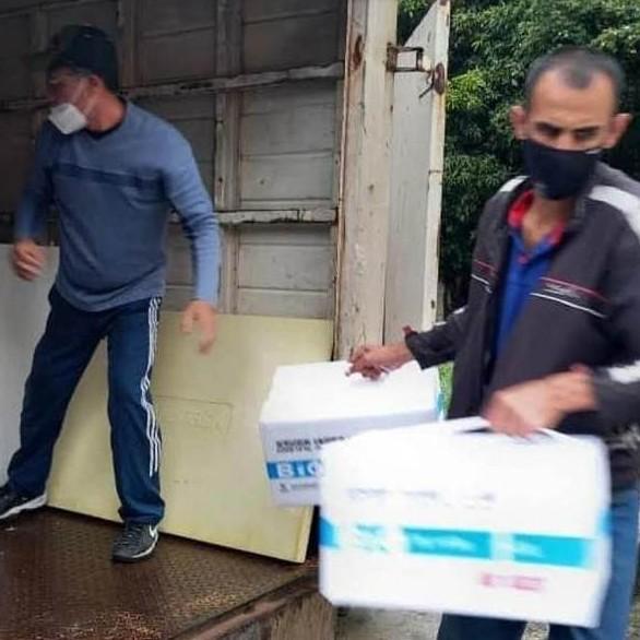 Frontera Digital,  VACUNAS EN MÉRIDA, Salud,  Más de 68 mil vacunas  han llegado a Mérida en los últimos días