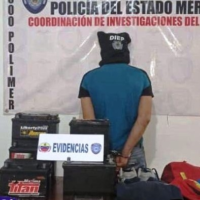 "Diario Frontera, Frontera Digital,  CAPTURADO LADRÓN DE BATERÍAS, Sucesos, ,POLICÍA CAPTURÓ A CIUDADANO APODADO ""MOROCHO""  POR HURTO DE BATERÍAS A VEHÍCULOS EN LIBERTADOR"