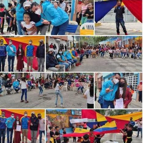 Diario Frontera, Frontera Digital,  JESÚS ARAQUE, ENCUENTRO CON LA JUVENTUD, MÉRIDA, Politica, ,Jesús Araque participó en el Festival del Baile Bicentenario organizado por la Jpsuv