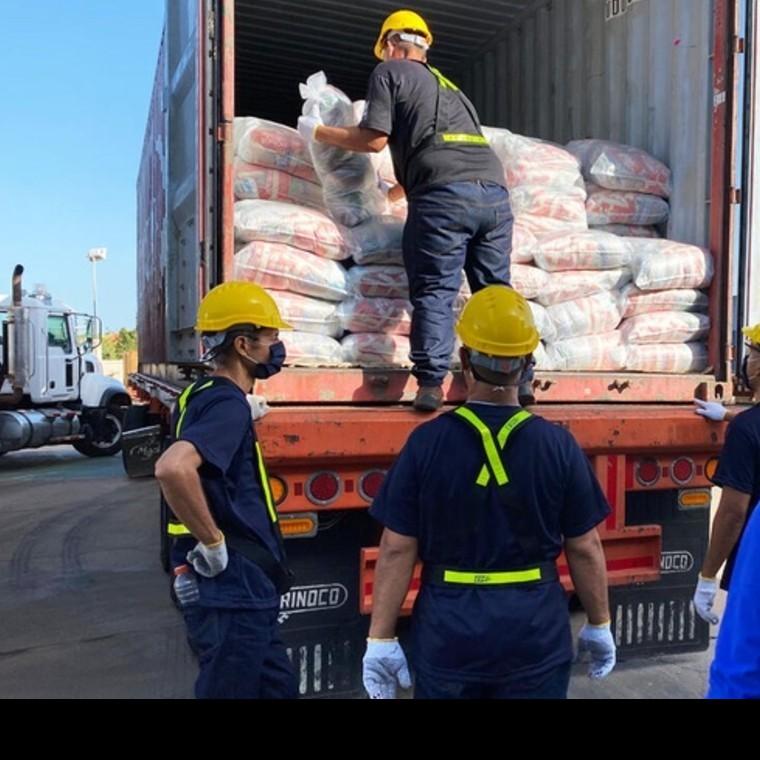 Diario Frontera, Frontera Digital,  PMA, Internacionales, ,Primer cargamento del Programa Mundial de Alimentos llega a Venezuela